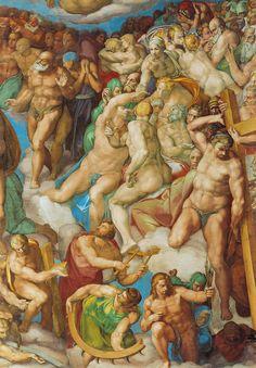 Sixtinische Kapelle, Michelangelo, Jüngstes Gericht, die Seligen (the blessed ones) by HEN-Magonza, via Flickr