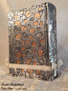 Buchcover für Hochzeitsbuch in Aluminiumdesign Butcher Block Cutting Board, Aluminium, Design, Creative, Design Comics