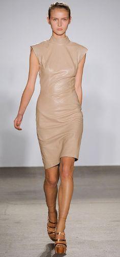 Elise Overland nude leather
