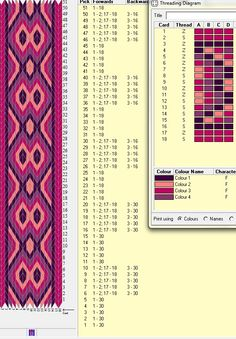 18 tarjetas, 4 colores // sed_159༺❁