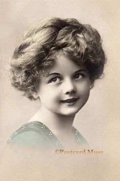 Edwardian Girl New 4x6 Vintage Image Photo Print by PostcardMuse