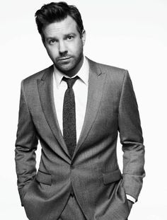 Jason Sudeikis. I'll take him in a wig and a track suit, but I'll also take him in this, please and thank you.