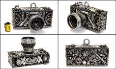 Appareille photo Scrap Metal Art, Sculpture, Lady Dior, Cufflinks, Garage, Bags, Accessories, Fashion, Carport Garage
