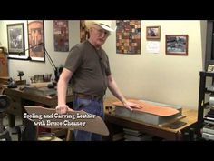 ▶ Leather carving secrets How to transfer designs - YouTube