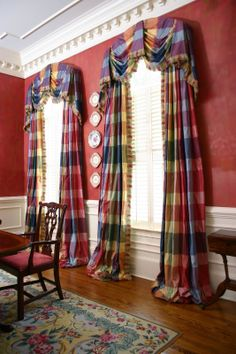 Image result for MULTI COLOR PLAID CURTAINS