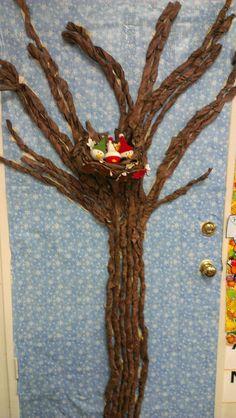 Winter tree for season