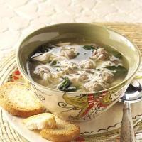 Traditional Italian Wedding Soup Photo
