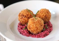 The Galley Gourmet: Turkey and Sweet Potato Croquettes with Cranberry Apple Salsa