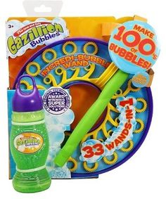Gazillion Incredibubble Wand $11.99 @ Amazon - Hot Deals Find the best prices and hottest deals at www.hotdeals.com