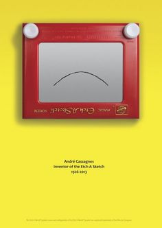 Etch A Sketch Honors Its Late Inventor With Lovely, Sad Tribute Ad A salute to André Cassagnes