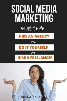 This post will help you decide which route you should take – Hire a social media agency or do it in-house or hire a freelancer or do it yourself. Social Media Marketing Agency, Passive Income, Reading, Business, Tips, House, Home, Reading Books, Store