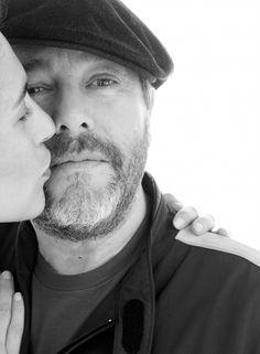 Jasmine et Philippe Starck ©Jean-Baptiste Mondino