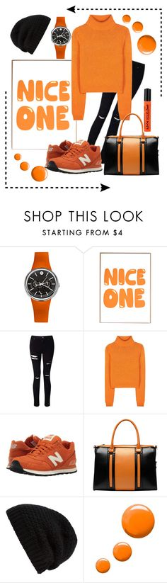 """""""only one"""" by silver-sun ❤ liked on Polyvore featuring Philip Stein, Miss Selfridge, Acne Studios, New Balance Classics, Vicenzo Leather, Rick Owens and Topshop"""