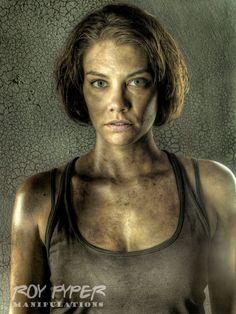 The Walking Dead: Maggie: HDR Redux by nerdboy69 on deviantART