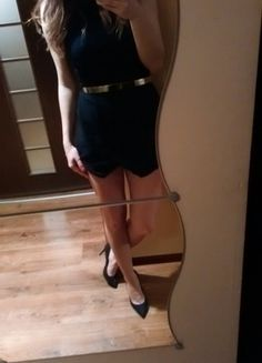 Kup mój przedmiot na #vintedpl http://www.vinted.pl/damska-odziez/inne-ubrania/12917438-czarny-kombinezon-asymetryczny-spodenki-spodniczka-new-look-36