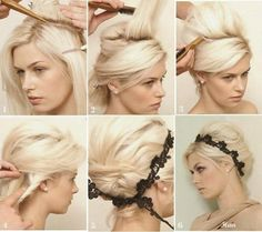 15 Simple Step By Step Hairstyles - Fashion Diva Design