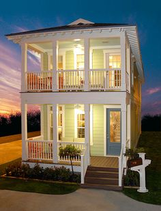 Looks like a fancy shotgun house, but I like it. The Glen Cairn - Modular Homes