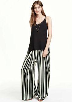 Stripy pants
