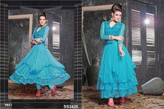 Designer Anarkali Fancy Long Gown Suits (4)