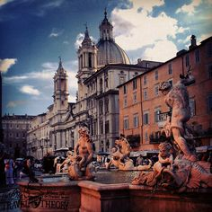 Piazza Navona- Rome, Italy