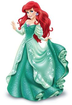 There is a world where hope and dreams can last for all time. -Ariel
