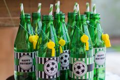 Soccer Drink Accessories | 15 FIFA World Cup Party Ideas | diyready.com