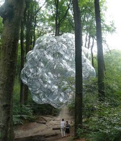 How human creation should behave in respect to nature. Tomas Saraceno