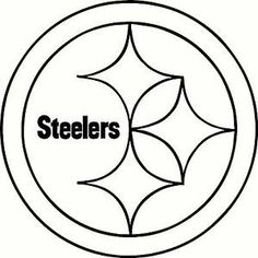 pittsburgh steelers logo american football team in the north rh pinterest com nfl football helmet coloring pages green bay packers helmet coloring page - Steelers Coloring Pages