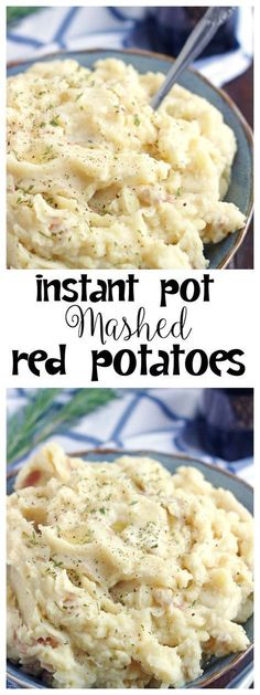 Instant Pot Mashed Red Potatoes – 5 Boys Baker These Instant Pot Mashed Potatoes will quickly become your favorite. They're quick, super simple and absolutely delicious. They are the perfect side dish for any weeknight dinner! Pressure Cooker Mashed Potatoes, Basic Mashed Potatoes, Instapot Mashed Potatoes, Smashed Red Potatoes, Instant Pot Pressure Cooker, Pressure Cooker Recipes, Pressure Cooking, Pressure Pot, Instant Pot Red Potatoes