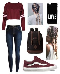 """""""Untitled #57"""" by oliviaclaire321 ❤ liked on Polyvore featuring Vans, JanSport and Givenchy"""