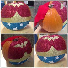 #WonderWoman #Pumpkin #Halloween