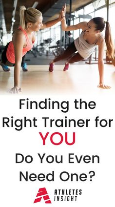 Finding the Right Trainer for You