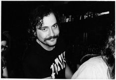 Music journalist Lester Bangs (1977). | 17 Awesome Photos That Captured CBGB's Iconic 1970s Punk Scene