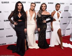 Together, the four chart-toppers - Leigh-Anne Pinnock, Perrie Edwards, Jade Thirlwall and ...