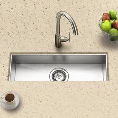 Houzer CTB-2385-1 Contempo Zero Radius Undermount Stainless Steel Trough Bar or Prep Sink, 21-by-6-1/2-Inch: Amazon.ca: Tools & Home Improvement