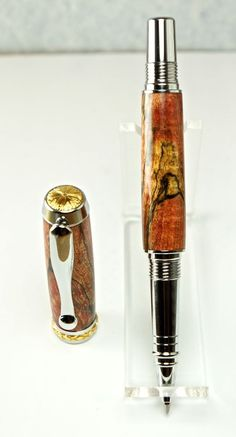 Hand Turned Wooden Pen Rollerball Handcrafted by MikesPenTurningZ, $89.00