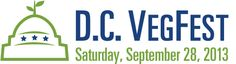 BIG ANNOUNCEMENT: As part of the 3-day East Coast Launch for The Cheesy Vegan, I've been tapped to MC the 2013 DC VegFest in Washington, D.C., on Saturday, September 28! ~ We are going to ROCK our nation's capital with COMPASSION and delicious food!!! +++++  More exciting announcements on the D.C. book launch to come soon!