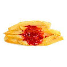 【食品サンプル】フライドポテトのバレッタタ【アクセサリー】