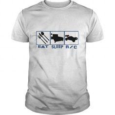 I Love  Eat sleep Rc car radio controlled cars T-Shirt