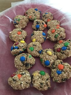 Monster Cookies No Bake