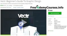 [Udemy #BlackFriday] Vectr: Beginner's Guide To #Graphic_Design   About This Course  Published 11/2016English  Course Description  This course is intended to teach anyone how to create beautiful vector graphics designs using simple and intuitive tool Vectr. Throughout the course you will gain a solid understanding of graphic design concepts and confidentskills using Vectr tools.You do not need any prior experience to get started with course.  Vectr is a free vector graphics design software…