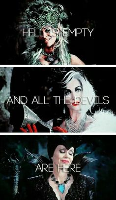 Not all of them. People always forgwt about the best villian that the show has ever had