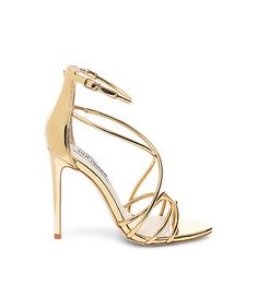 FOR THE ACCESSORIES || NOVELA BRIDE...Strappy gold Steve Madden heels || Where the modern romantics play & plan the most stylish weddings... www.novelabride.com @novelabride #jointheclique