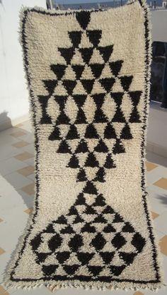 Beni Ouarain Rug : Moroccan Natural Undyed par SheherazadeStories
