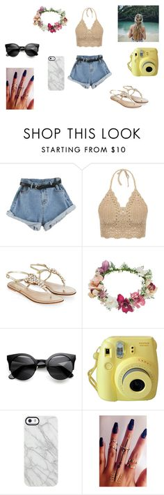 """""""Untitled #63"""" by naniballz69 ❤ liked on Polyvore featuring Monsoon, Topshop and Uncommon"""