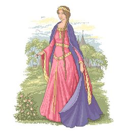 medieval dress and belt. Something to study for the dress I'm making!