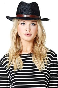 Brixton Leighton Hat | Shop What's New at #NastyGal