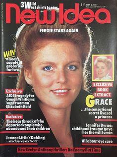 New Idea Magazine May 9, 1987 ~ Sarah Ferguson