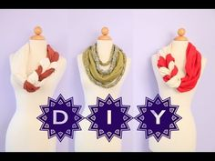 """Please Take a moment and LIKE or SUBSCRIBE if you haven't (^_^) Thank you!    Learn how to """"do it yourself"""" with these cute twisted/braided scarves.  They're super easy to make for yourself or someone you love! The holidays are coming soon, so you can make a candy cane theme or customize it into any color of your choice!   This is also a great way ..."""