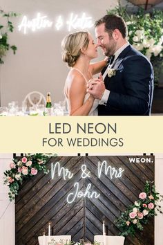 Custom neon signs for weddings Wedding Signs, Our Wedding, Dream Wedding, Wedding Ideas, Dollar Tree Wedding, Custom Neon Signs, Seating Plan Wedding, Southern Weddings, Wedding Reception Decorations